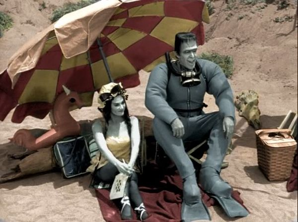 Munsters on the beach!