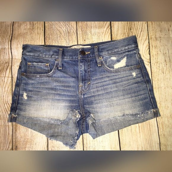 Abercrombie And Fitch Jean Shorts
