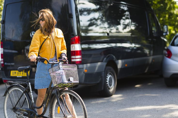 Best Cycling Street Style Photos of Copenhagen Fashion Week