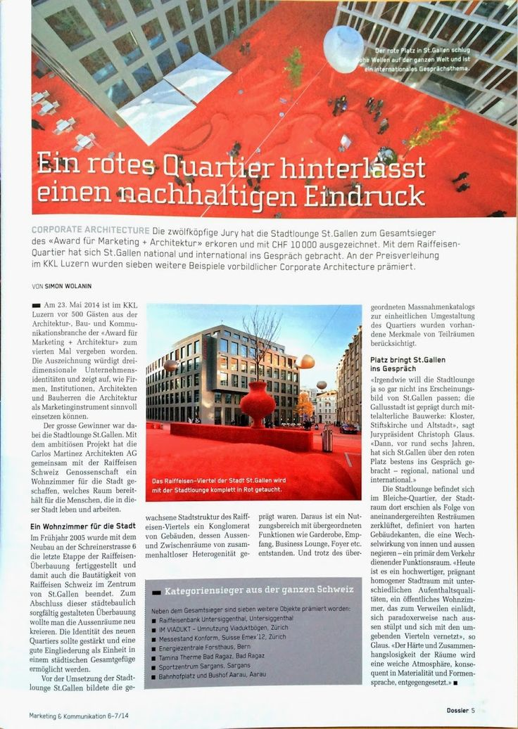 Stadtlounge St.Gallen im Marketing & Kommunikation