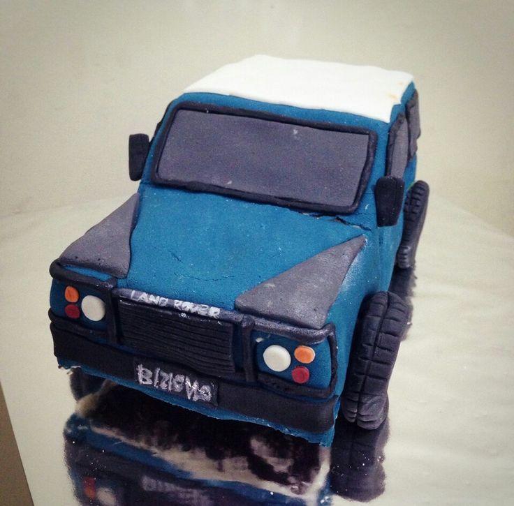 land rover 3D cake
