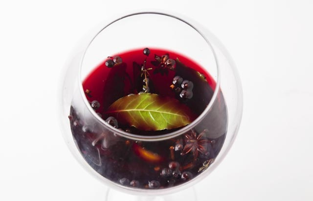 Mulled wine recipe from award winning chef Adam Gray