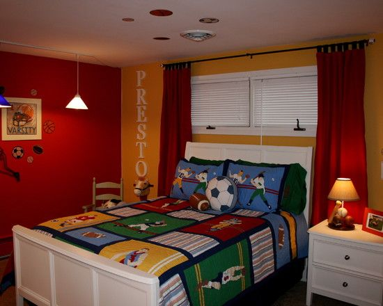 Boys Room Ideas Sports Theme 37 best room designs images on pinterest | soccer bedroom, bedroom