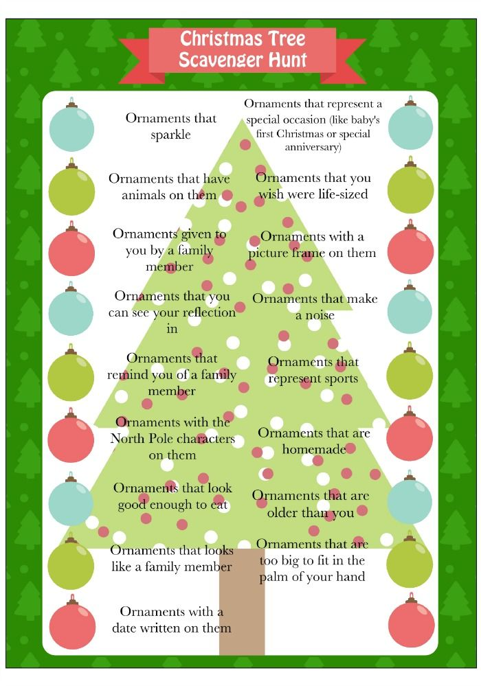 Christmas Tree Game Scavenger Hunt Moms Munchkins Christmas Tree Game Christmas Fun Printable Christmas Games