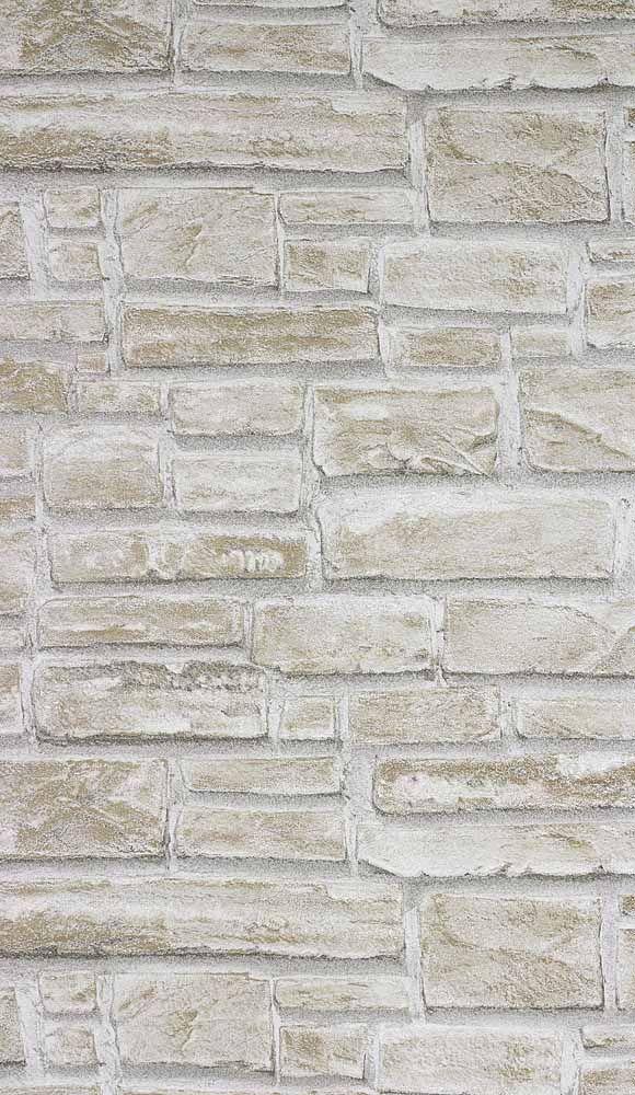 Papier Peint Briques Beige Artois Ambiance Nature Brute