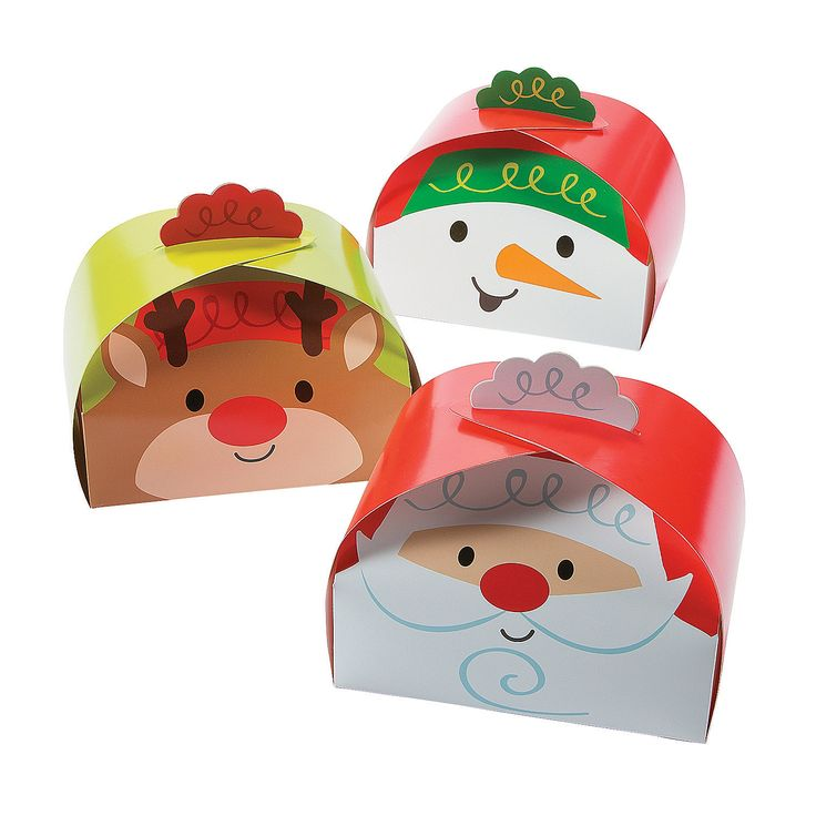 Large Christmas Gift Boxes - OrientalTrading.com