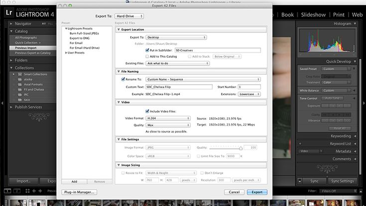 Color Correcting Video with VSCO Film filters