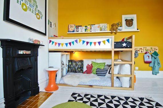 Mar&Vi Creative Studio - Italia: Ikea Hacks: Idee per personalizzare i letti Kura #kura #ikeahacks