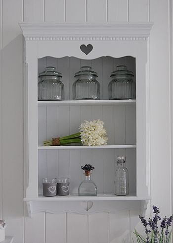 Perfect A White Wall Shelf Unit From The White Lighthouse Bedroom Furniture