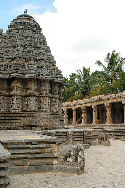 Chennakesava Temple, Somnathapura, Karnataka, India.