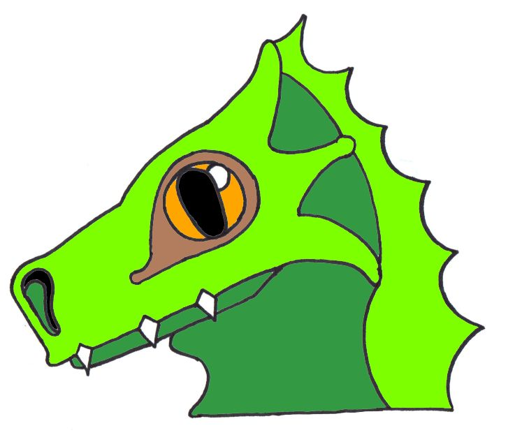 Animated dragon head - photo#17