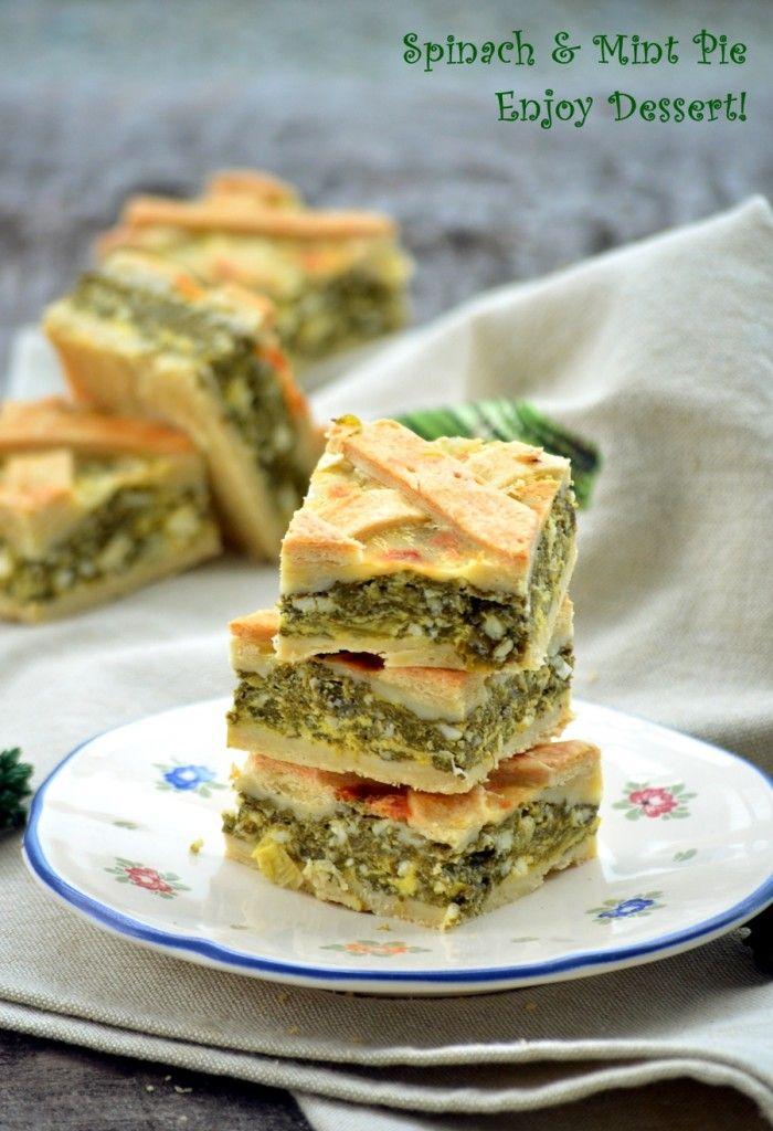 Mint & Spinach Pie