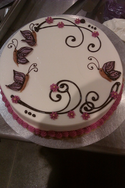 Butterfly Cake by AmyWill8667, via Flickr