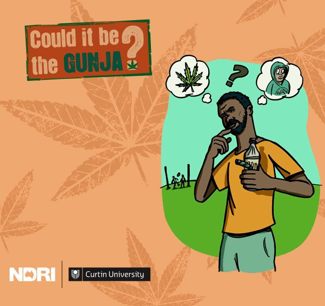 Could it be the gunja? Health information resources about #cannabis for Aboriginal people from @NDRIau