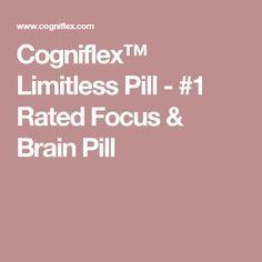 Cogniflex™ Limitless Pill - #1 Rated Focus & Brain Pill