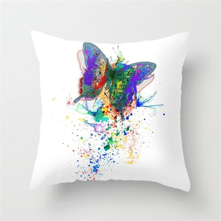 Nature Flower Cotton Linen Pillow Case Sofa Couch Throw Cushion Cover Home Decor