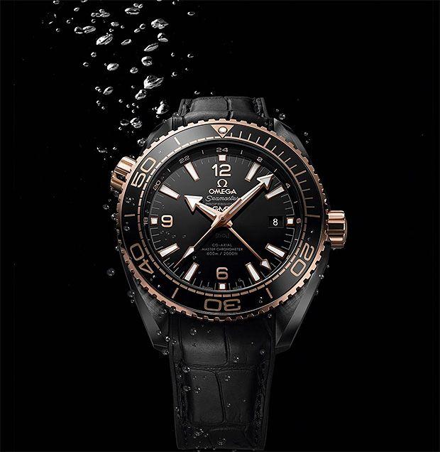 Omega Seamaster Planet Ocean Deep Black Collection