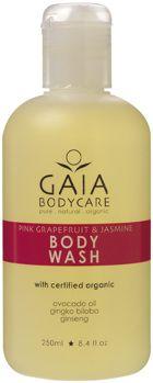 Body wash. Pink Grapefruit - Skön duschtvål som är skonsam även för dig som duschar varje dag. Huden rengörs varsamt utan att dess naturliga fuktbalans rubbas.
