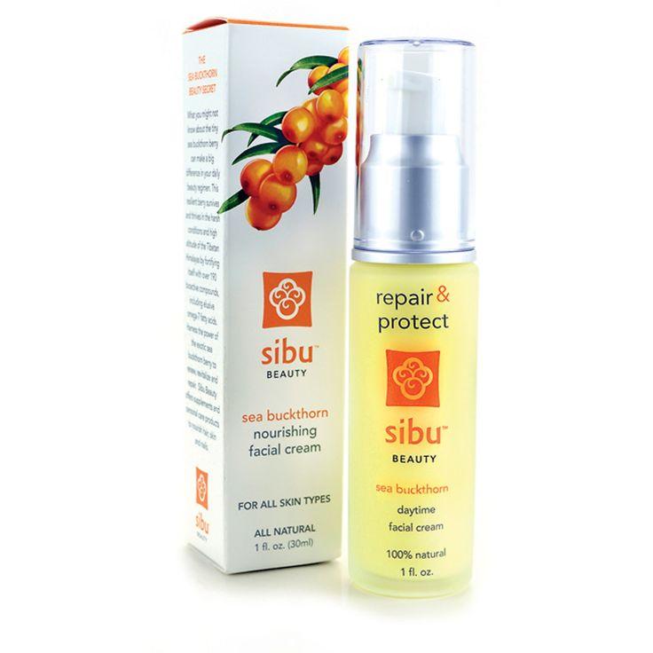 Sibu Beauty, Sea Buckthorn Nourishing Facial Cream, 1 fl oz (30 ml)