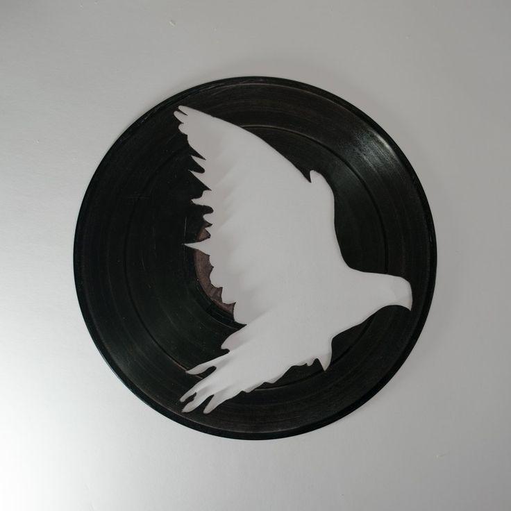 Bird Silhouette Vinyl Wall Decoration