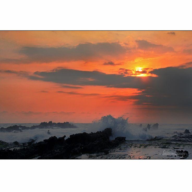 Sawarna, waiting for sunset