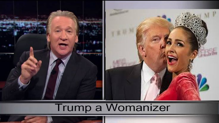Bill Maher New Rules - Trump a Womanizer - December (HBO)