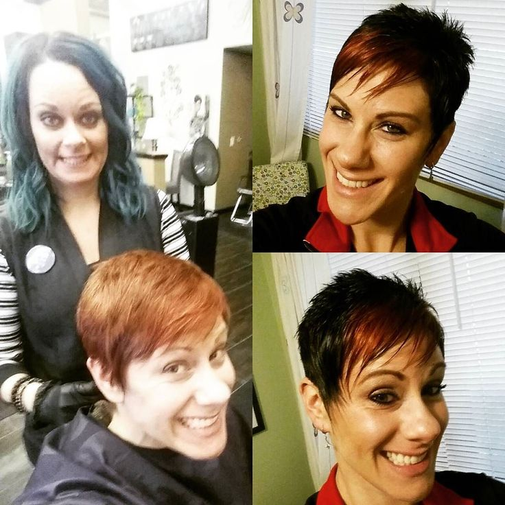#hairday is my favorite! Holiday hair in full effect! #brightandnew #redhair #punchofcolor