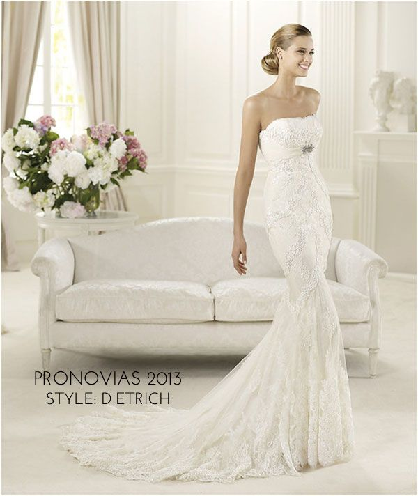 Wedding Gowns I Love: Pronovias 2013