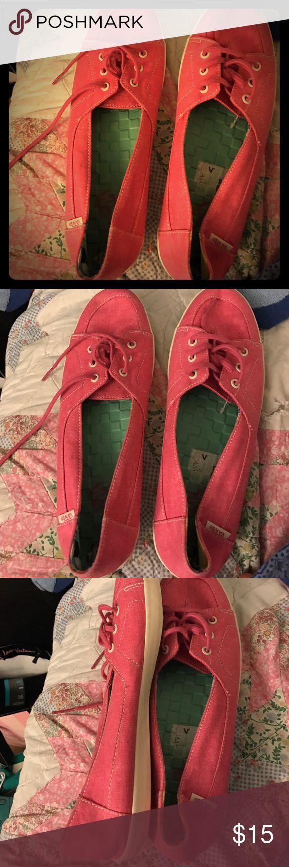 Vans -- slipper style --pink Vans pink Vans Shoes Slippers