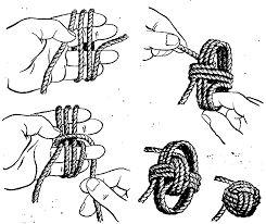 Картинки по запросу морской узел как вязать