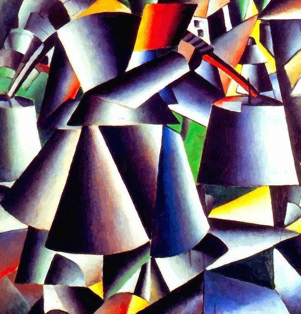 New Artwork Made With Love For You Peasant Woman 1912 Painting By Malevich Kazimir Https Ift Tt 2om8yzn Malevich Kazimir Malevich
