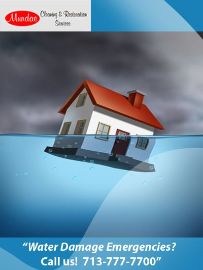 Water Damage Emergencies? Mundae helps!! http://www.mundae.com/our-services/water-damage