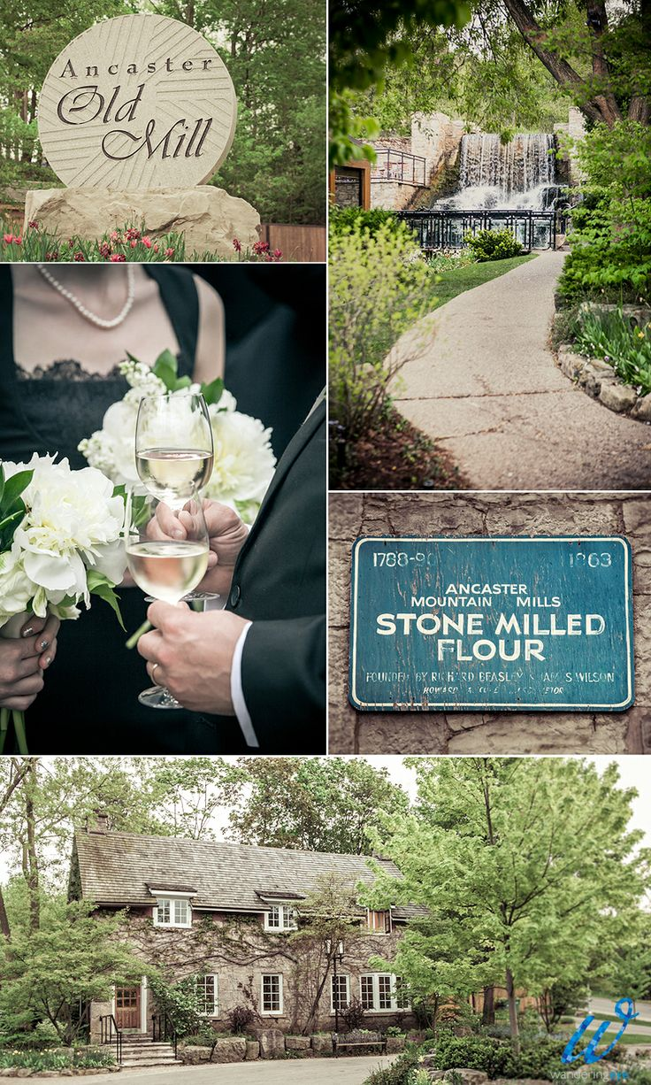 Ancaster Mills, Ontario. I want to get married here