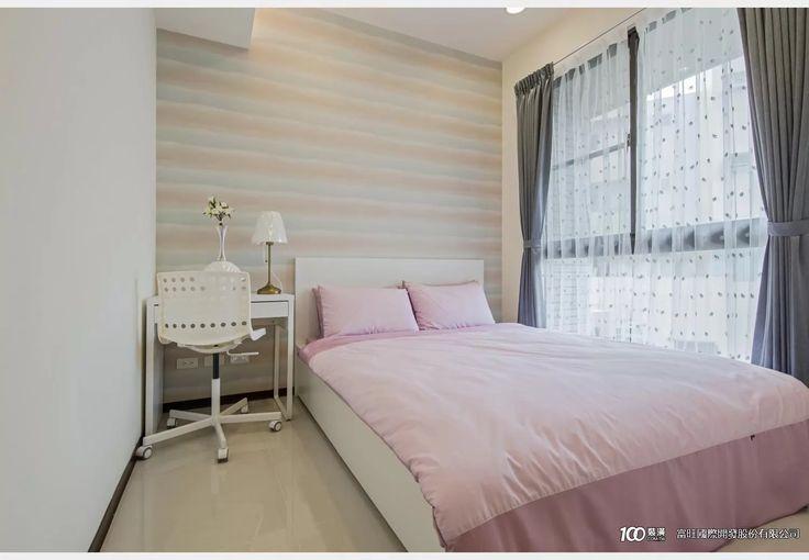 富旺天藍_現代風設計個案—100裝潢網