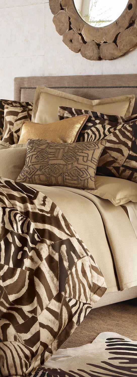 Gorgeous Ralph Lauren bedding via @BuyerSelect. #patternplay #RalphLauren