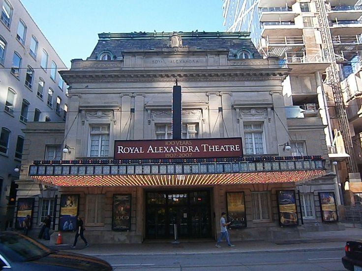 Royal Alex Theatre in Toronto, Ontario, Canada http://babybirdguide.com/guide-to-toronto/