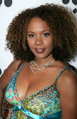 Almost forgot about Rachel True from Half and Half.  She has been rocking her curly style forever!!