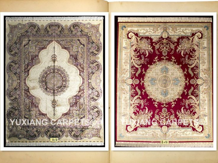 8x10ft handmade silk carpet rug #persiancarpet #p…