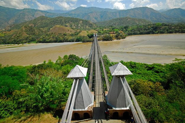 Cross the Cauca river into the town of Santa Fe de Antioquia | Community Post: A Trip Through The Land Of Magical Realism