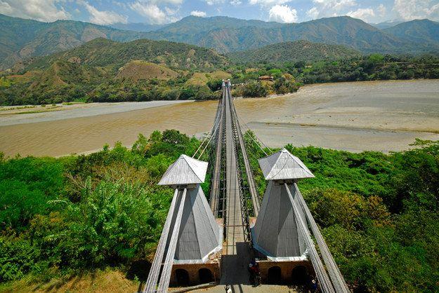 Cross the Cauca river into the town of Santa Fe de Antioquia | Community Post: A Trip Through The Land Of Magical Realism