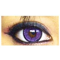 geo super nudy quarter violet Circle Lens Fashion Colored Contacts Korean Contact Lenses | EyeCandy's