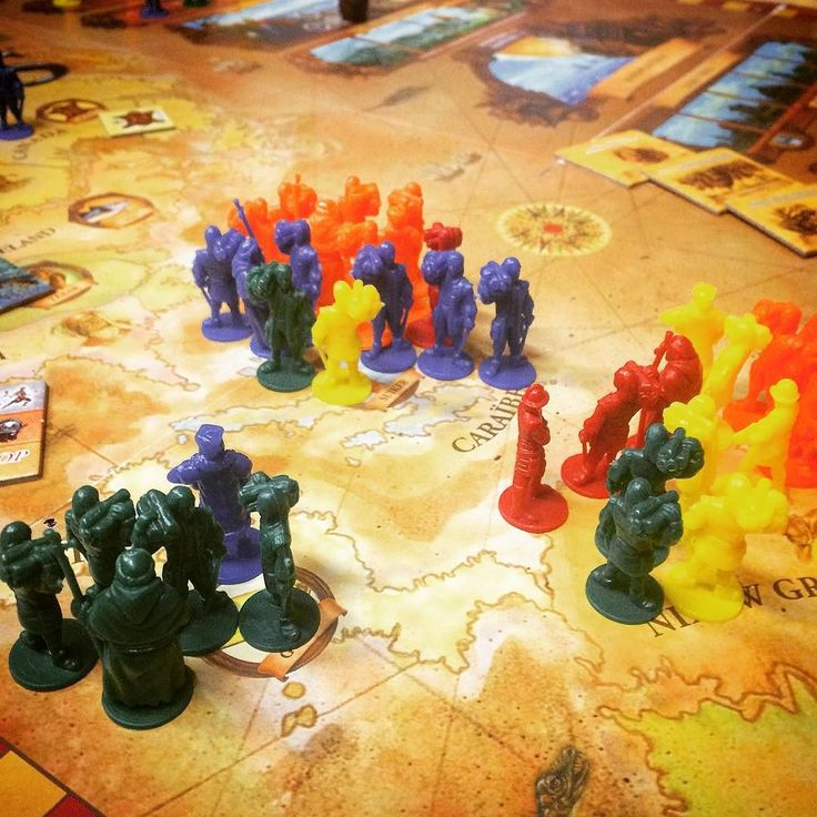 It's getting crowded time to make some more discoveries in Age of Empires III a beautiful fun strategic yet surprisingly easy worker placement game. #tabletop #boardgames #brettspiel  #jeuxdesociete #juegosdemesa #boardgamegeek #bgg http://ift.tt/2fTbvY1