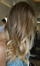 ombre on ash blonde hair pinterest