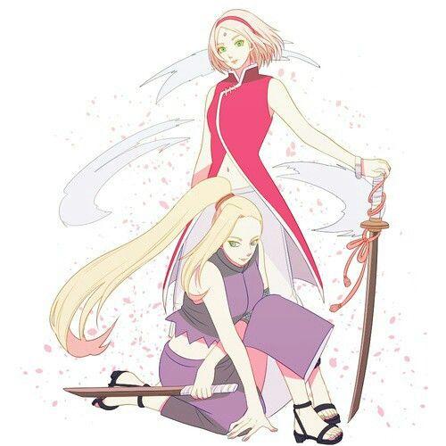 Sakura And Ino . / SakuIno