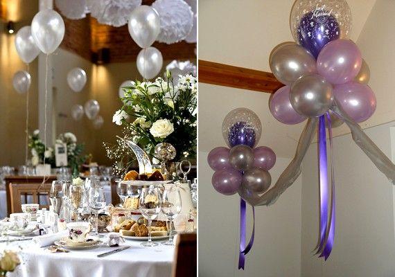 Néhány lufi és szalag segítségével komplett dekorációt készíthetsz. Ha az asztalra tennéd őket, érdemes héliummal tölteni, ha pedig füzért készítenél, elég csak szájjal vagy pumpával felfújni őket.