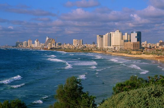 Tel Aviv, Israel. Sooo want to go there and every time i turn my head i will fall in love <3