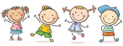 Dez Crianças Felizes Dos Desenhos Animados - Baixe conteúdos de Alta Qualidade entre mais de 56 Milhões de Fotos de Stock, Imagens e Vectores. Registe-se GRATUITAMENTE hoje. Imagem: 50638374