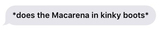 aesthetic text message