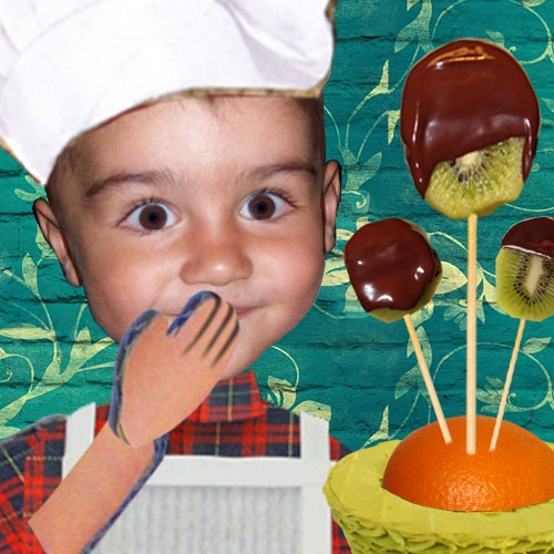My Little Cook: Kiwi Lollypos