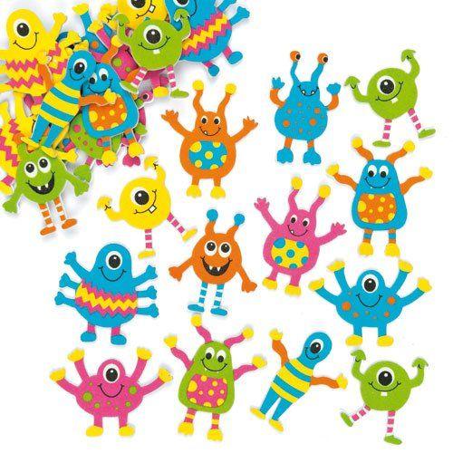 Monster Foam Stickers Children's Embellishments for Card ... https://www.amazon.com/dp/B00K19LSKQ/ref=cm_sw_r_pi_dp_x_9PpdybZN3JT8B